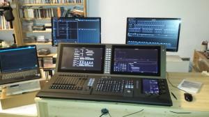Eos Ti mit Monitoren